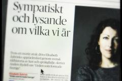 Recension av Orden som formade Sverige i Dagens Nyheter.
