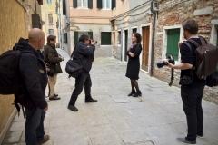En helt galen fotosession i Venedig när 1947 kom ut på italienska. Förlag Iperborea.
