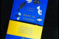 Made in Sweden in the special US edition. Published by Scribe.