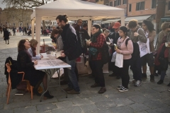 Signing queues and fantastic readers in Venice, 2018